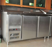 Undercounter salad bar used commercial refrigerators for sale