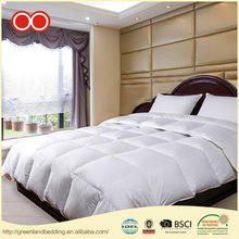 China Factory OEM Service 100% Cotton Inflatable Plain White Bed Hospitality Polyester Microfiber Quilted Duvets