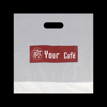 Customized logo printing HDPE plastic bag importer