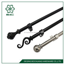 good sales of Amrica design iron curtain rod accessories , iron curtain pole ,metal curtain pole