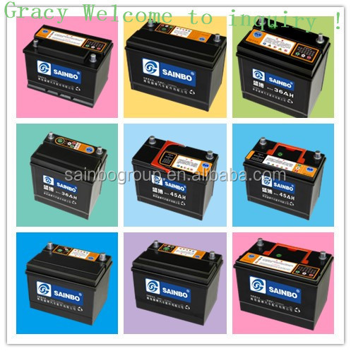 12V MF battery lead acid battery car battery 2128