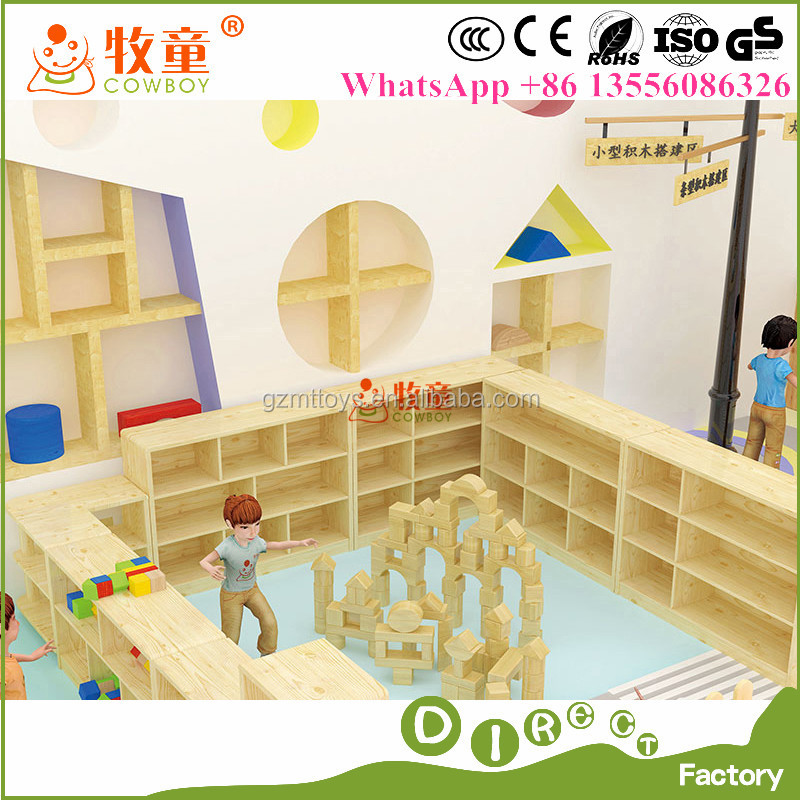 Wooden Prechool Furniture for Kids' Function Room