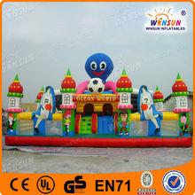 Popular TOP HOT Amusement Sport City Inflatable Castle Play Center