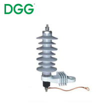 Export Type High Voltage Polymeric Metal-Oxide 15Kv Surge Arrester Lightning Arrestor
