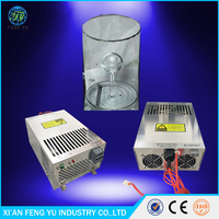 Air-cooled Switch Mode Microwave Power Supply for 1.25 kW, 2.45 GHz Magnetrons