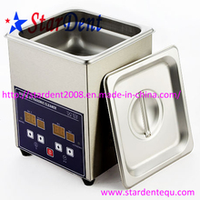1.3L Stainless Steel Digital Tabletop Ultrasonic Cleaner of Dental Unit