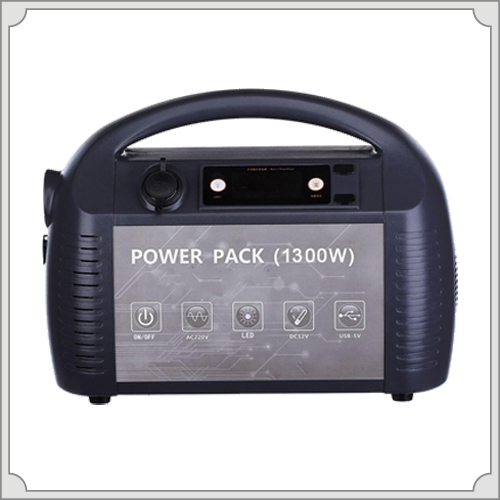 1300W portable Uninterrupted Power Supply with AC DC output for any electric peoducts