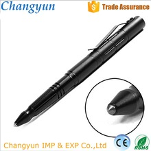 high quality self defence military writing Ballpoint multifunctional self protection weapon aluminum tactical pen