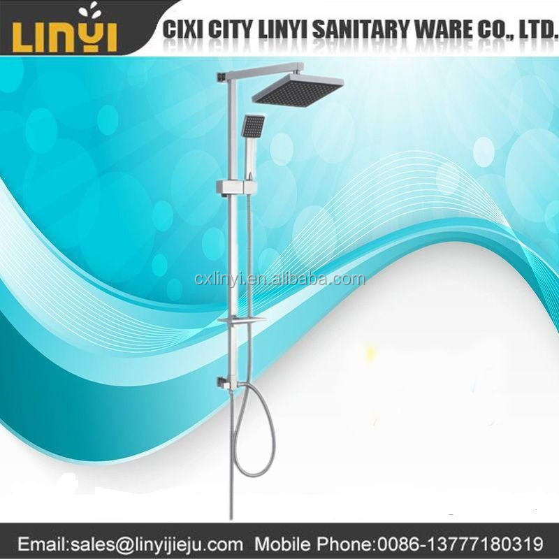 cixi shower factory supply full chrome plating hand shower 1 function