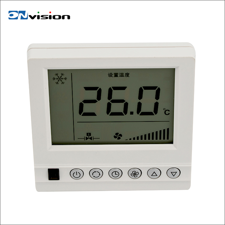 HVAC system type lcd screen FCU controller room smart digital thermostat price