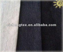 10.3OZ 55%ramie 1%spandex 20%polyester 24%cotton ST. slub denim fabric import denim fabric