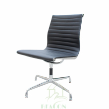 Mid back office swivel chairs no wheels no arms