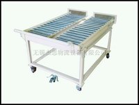 roller conveyor cart,roller storage mobile conveyor cart