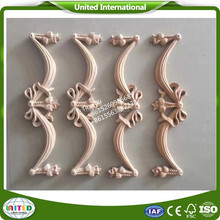 new products wooden craft embossed applique