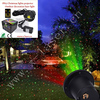 outdoor christmas projector laser light show Christmas decoration multi color for Christmas tree