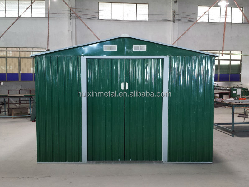 China used garden metal shed for sale hx81123 buy for Metal storage sheds for sale