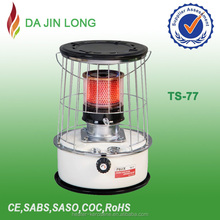 High quality low consume TS-77 kerosene heater vented