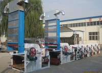 Rongda Cotton Fabric Waste Recycling Machine With Chute Feeder