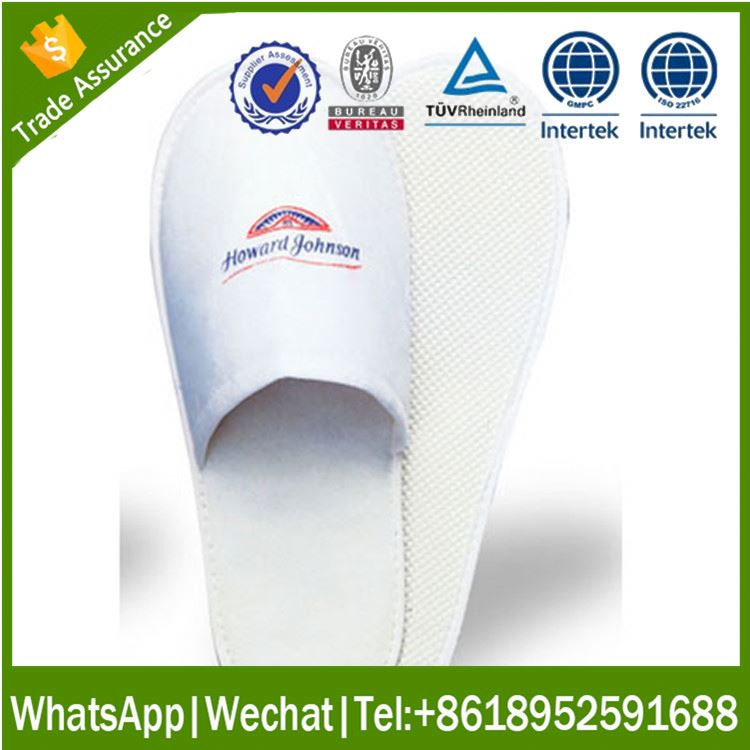 customized eva hotel slipper zapatilla with printing logo
