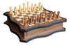 Chess Table Set Wooden/Chess Wooden/Wood Carving Chess Set