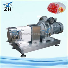 inline high shear dispersing emulsion pump hot selling/three lobes roots blower used for biogas conveying applications