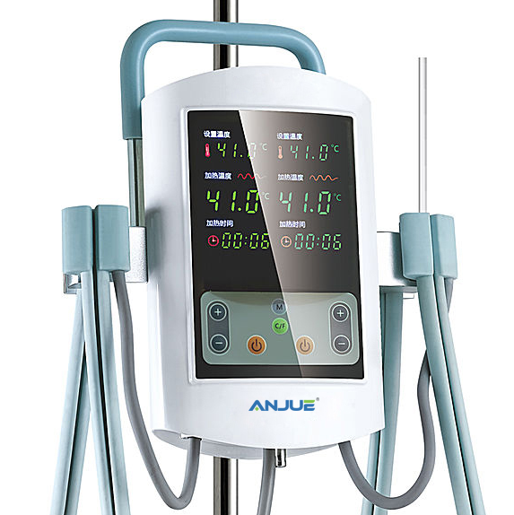 New Type Dual Channels Infusion Blood Warmer
