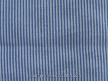TB 5285 100% Polyester 100*45 100*60 white and blue stripe fabric