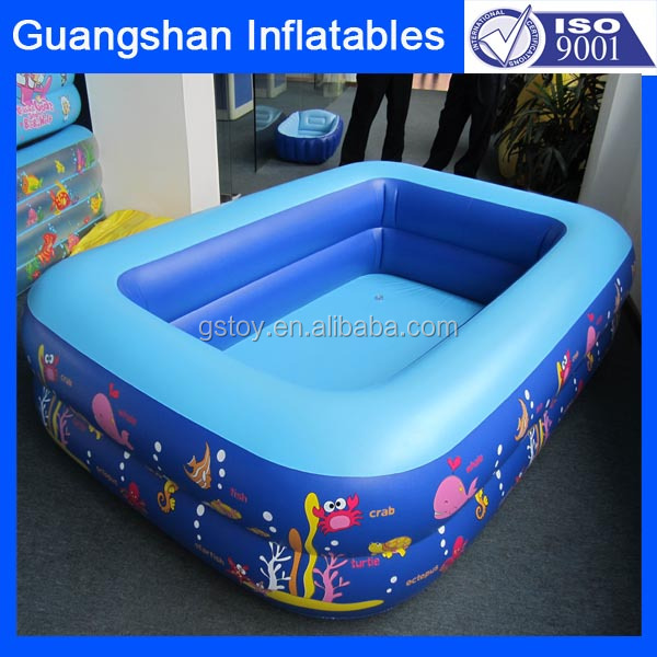 large outdoor inflatable swimming pool