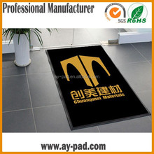 AY Custom Logo Washable Floor Carpet Rubber Door Mat Anti-slip Floor Mat For Home/Office,Trade Assurance Floor Carpet