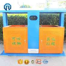 Durable cheap custom made trash can outdoor