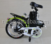 portable electric bikes,china manufacturer with CE,36V 10AH 250w