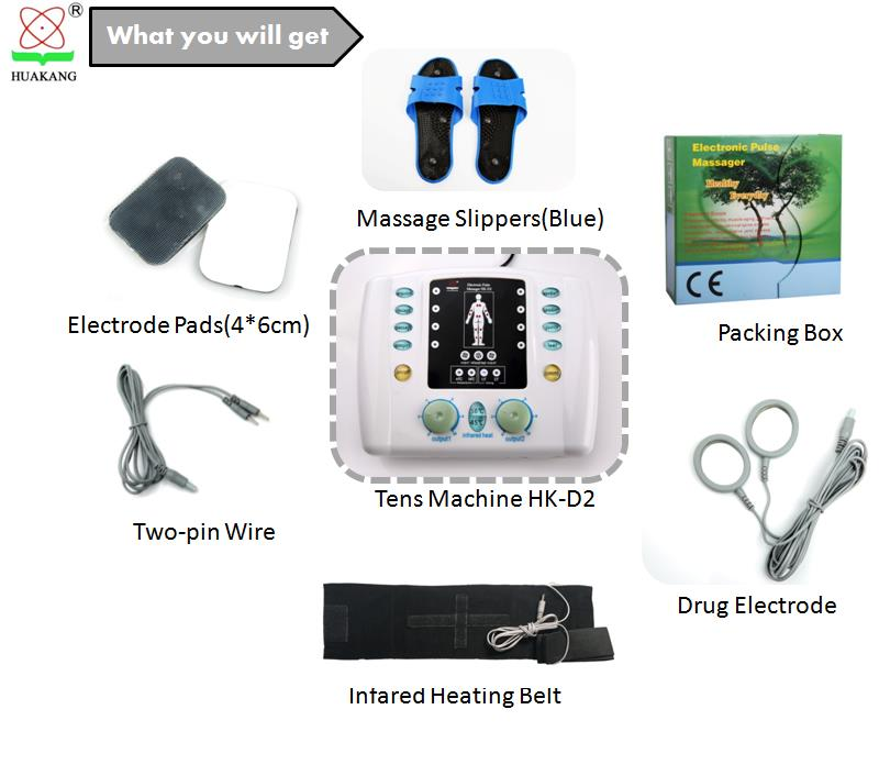 medical equipment foot spa electric massager nerve muscle stimulator