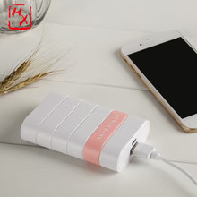 Promotional top quality thin portable power bank 7800