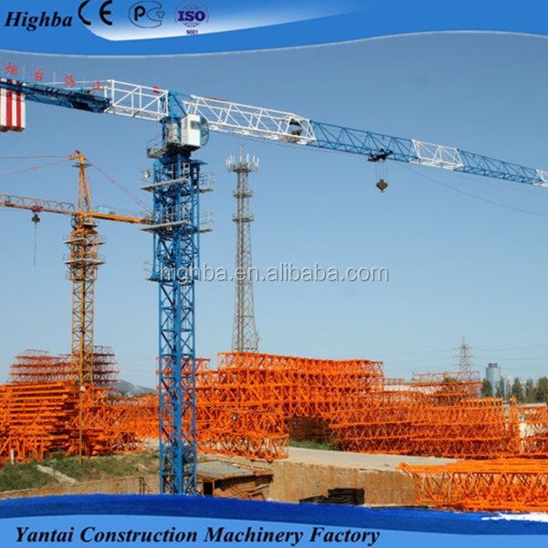 HS5510P self-raising tower crane Topless type