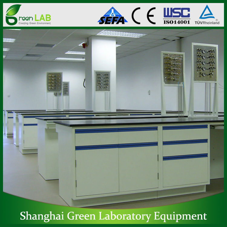 Full Steel lab bench, Laboratory Furniture, chemical laboratory bench