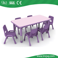 Guangzhou factory price children plastic tables and chairs