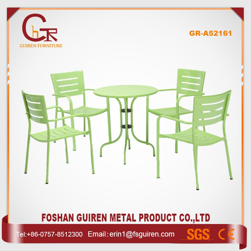 Oem outsourcing pleasing durable easy cleaning aluminum arm chair