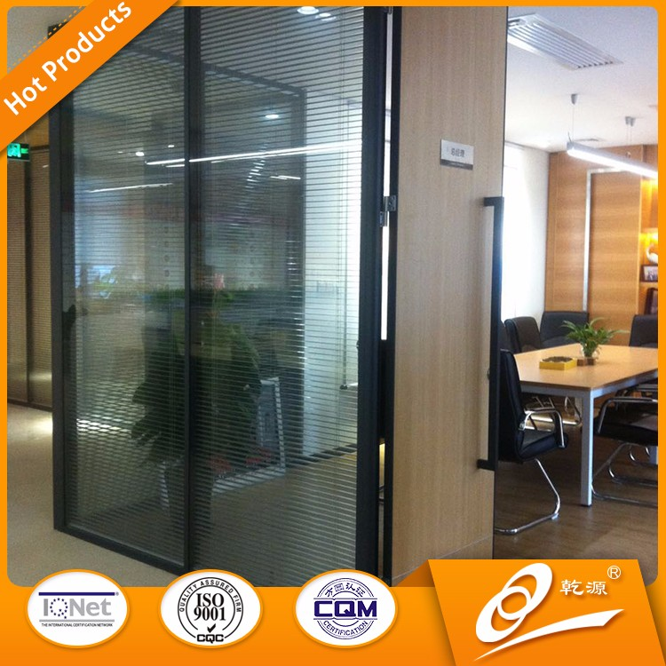 office partition design aluminum profiles curved glass wall