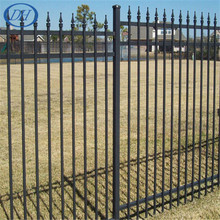 cheap garden pool stainless iron fence post design,plastic garden fen wire fence prices galvanized iron fence ISO 9001 Factory