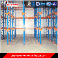 Hot sale drive in storage pallet racking