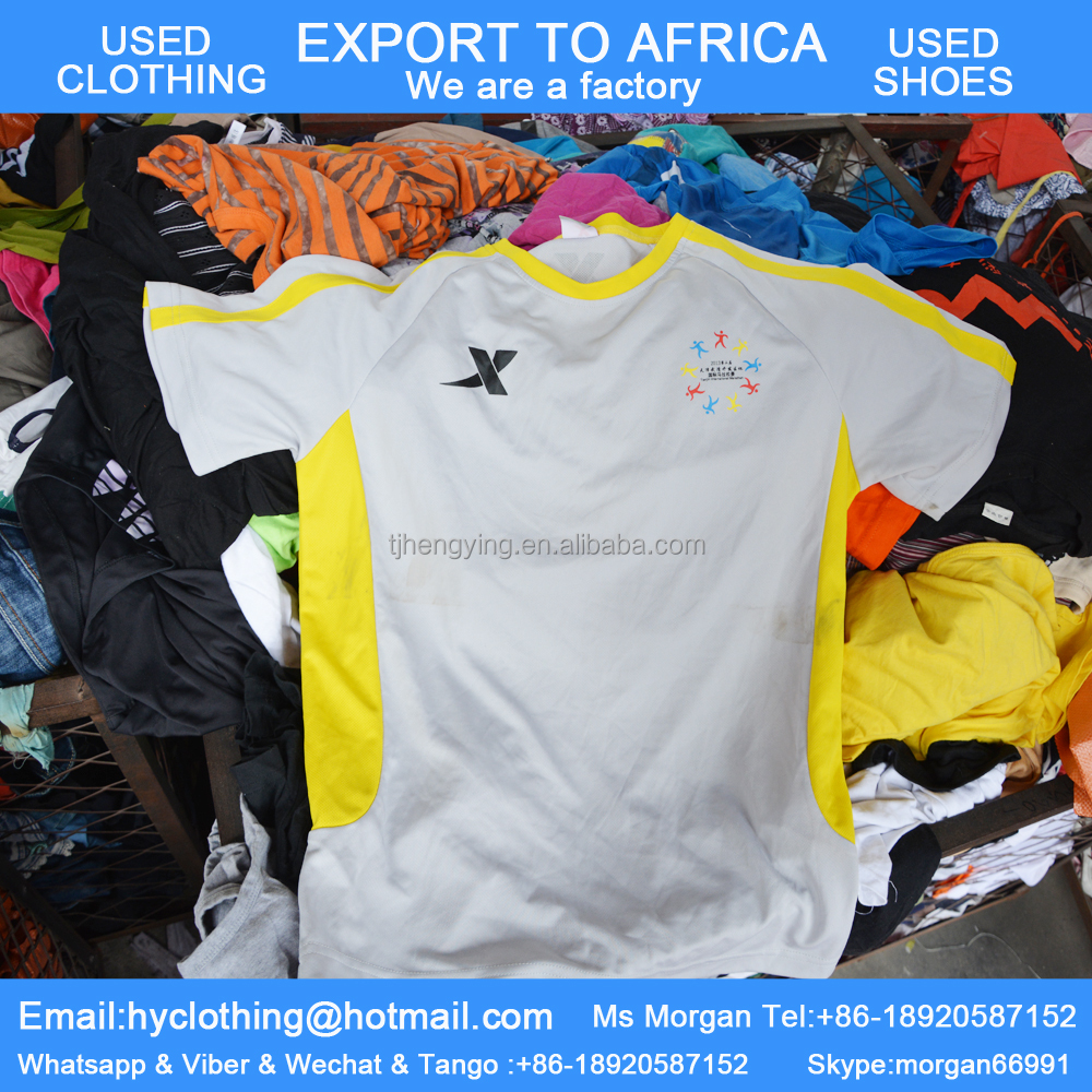 asian summer used clothes for sale in african market