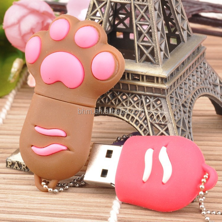 Silocone large quantity factory usb flash drive,novelty shaped usb flash drive
