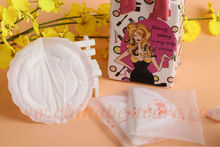 Breathable disposable breast pads for pregnant woman soft sanitary pads for ladies