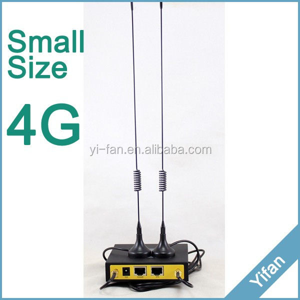 F3827 LTE TDD FDD industrial 4g vpn router with sim card slot