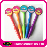 Novelty Ball Pen, mirror ball point pen,Rotary plastic pen