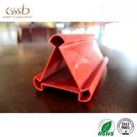 PVC Building Material PVC Extrusion Profile Custom PVC Plastic