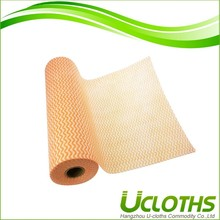 New design custom spunlace nonwoven kitchen cleaning wipes