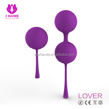 Hot selling medical silicone ball, app remote controlled kegel ball, ben wa ball kegel exercise with bluetooth