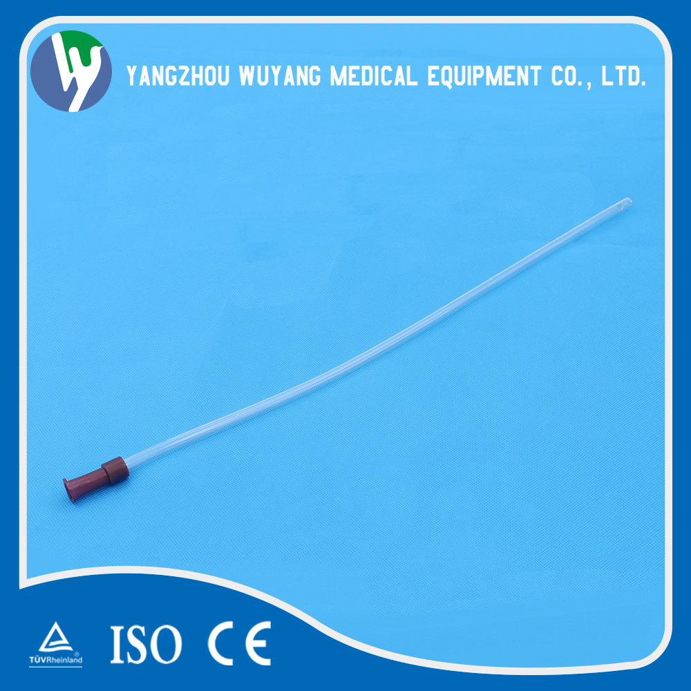 Quick production fast delivery medical pvc disposable Rectal Tubes