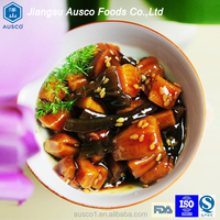 Ausco china supplier frozen seasoned salad squid Japanese flavor salad